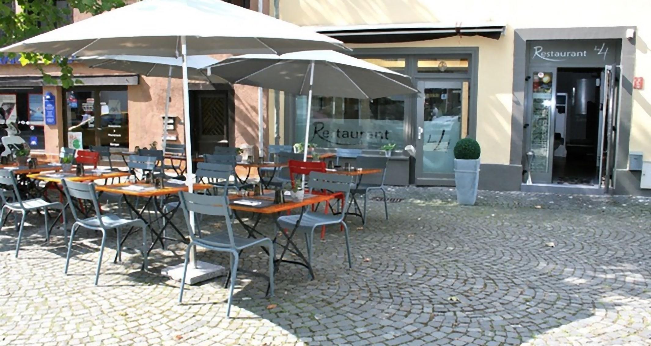 Terrasse été Restaurant Le 4 (68) Mulhouse